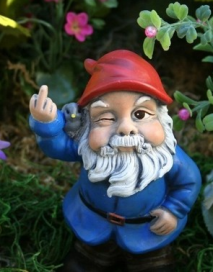 up yours, Gnome